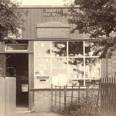 Shrewley.  Post Office