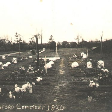 Stockingford.  Cemetery