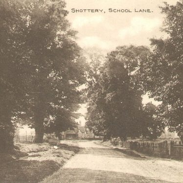 Shottery.  School Lane