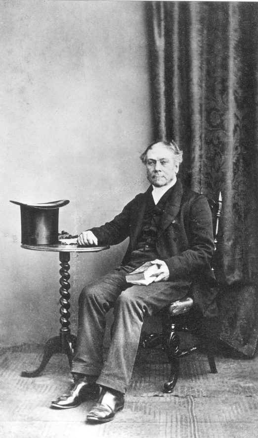 Copy of a studio photograph of William Oakes Hunt |  IMAGE LOCATION: (Warwickshire County Record Office) PEOPLE IN PHOTO: Hunt, William Oakes, Hunt as a surname