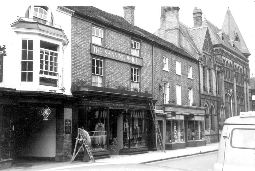 The Spinning Wheel, exterior front view, Stratford upon Avon.  1963. |  IMAGE LOCATION: (Warwickshire County Record Office)