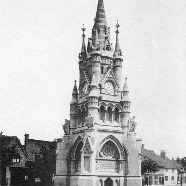 Stratford upon Avon.  Memorial Fountain