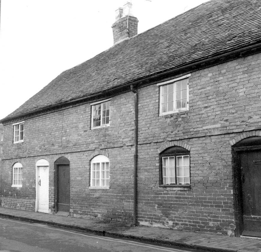 Exterior of 30 Ely Street, Stratford upon Avon.  1966 |  IMAGE LOCATION: (Warwickshire County Record Office)