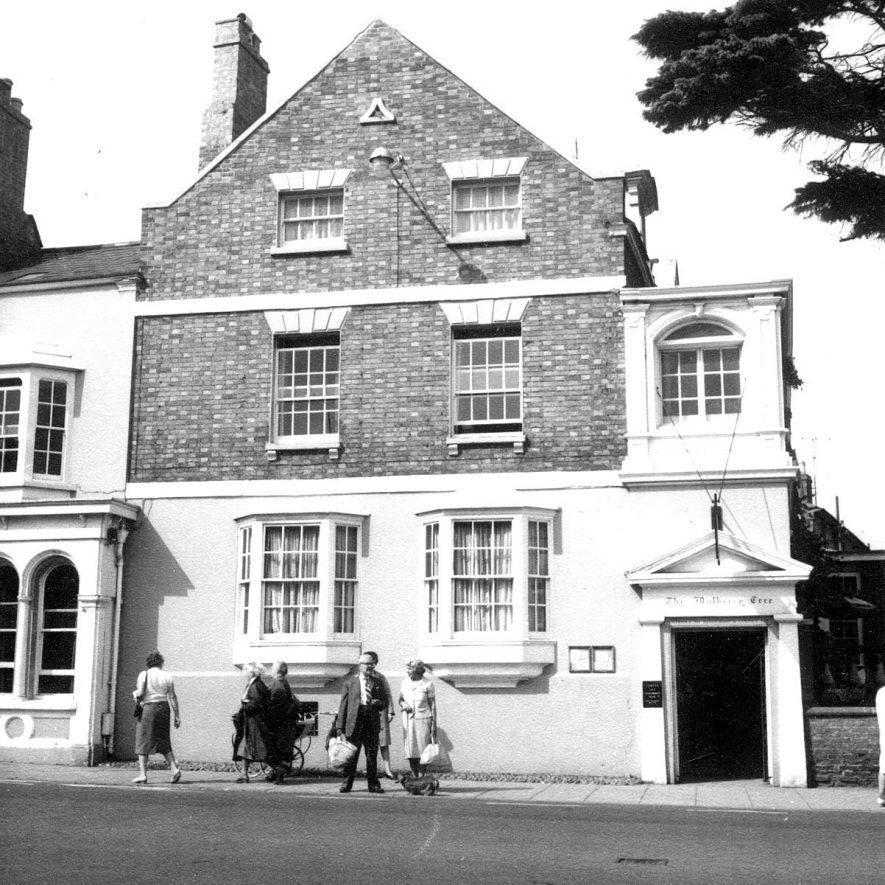 The Mulberry Tree, Bridge Street, Stratford upon Avon.  1966 |  IMAGE LOCATION: (Warwickshire County Record Office)