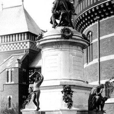 Stratford upon Avon.  Shakespeare Memorial Statue