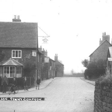 Fenny Compton.  Village scene