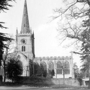 Stratford upon Avon.  Holy Trinity Church