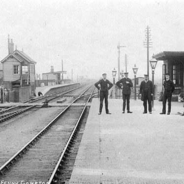 Fenny Compton.  Railway Station