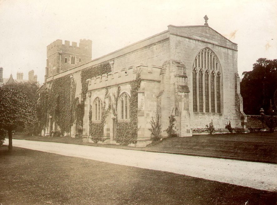 Wroxall Abbey Chapel.  c.1900 |  IMAGE LOCATION: (Warwickshire County Record Office) IMAGE DATE: (c.1900)