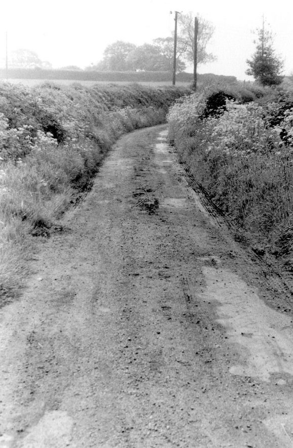 Parsonfield, a country lane near Wootton Wawen. 1966. |  IMAGE LOCATION: (Warwickshire County Record Office)