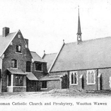 Wootton Wawen.  RC Church and Presbytery