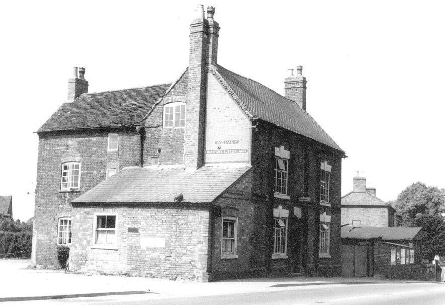 The Bulls Head Inn, Wolvey.  1920s |  IMAGE LOCATION: (Warwickshire County Record Office)