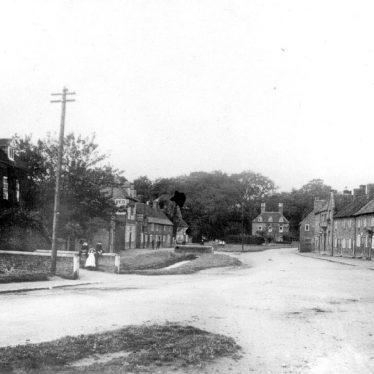 Wolston.  Village view