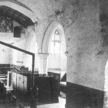 Wixford.  Church interior