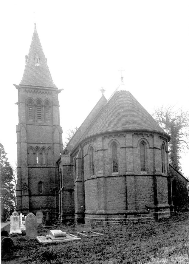 St Peter & Paul church, Winderton.  1930s. |  IMAGE LOCATION: (Warwickshire County Record Office)