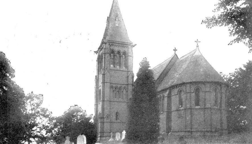 Winderton.  Saint Peter & Paul Church |  IMAGE LOCATION: (Warwickshire County Record Office)