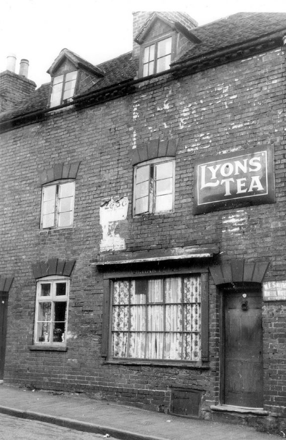 Old house in Friars Street, previously a shop, Warwick.  1950 |  IMAGE LOCATION: (Warwickshire County Record Office)