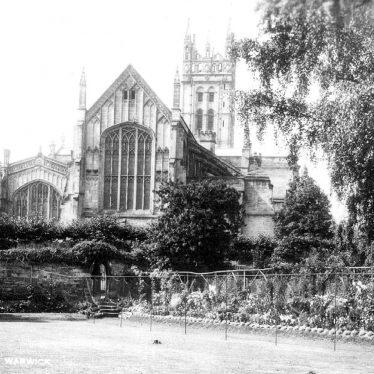 Warwick.  St Mary's Church exterior