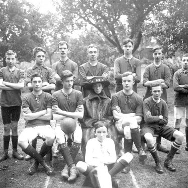 Warwick.  All Saints Athletic F.C. 1918/19