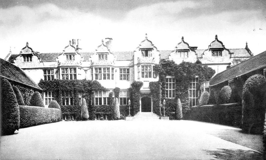 The Priory, Priory Park, Warwick. Circa 1900 |  IMAGE LOCATION: (Warwickshire County Record Office)