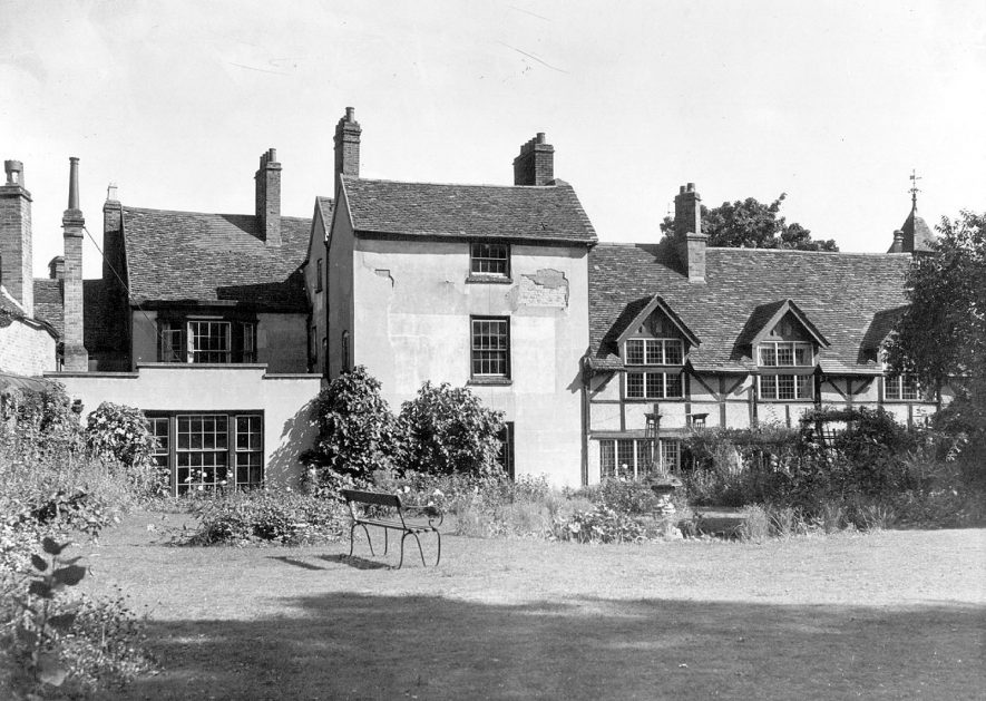 The Old Deanery, The Butts, Warwick. 1950s |  IMAGE LOCATION: (Warwickshire County Record Office)