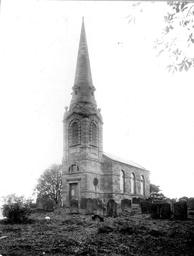 St. Leonard's church, Over Whitacre.  1900s |  IMAGE LOCATION: (Warwickshire County Record Office)