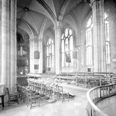 Warwick.  St Mary's Church, interior