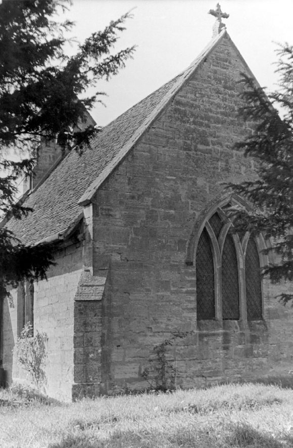 Old Church, Ullenhall.  1920s |  IMAGE LOCATION: (Warwickshire County Record Office)