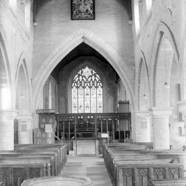 Tredington.  Parish Church interior, looking east