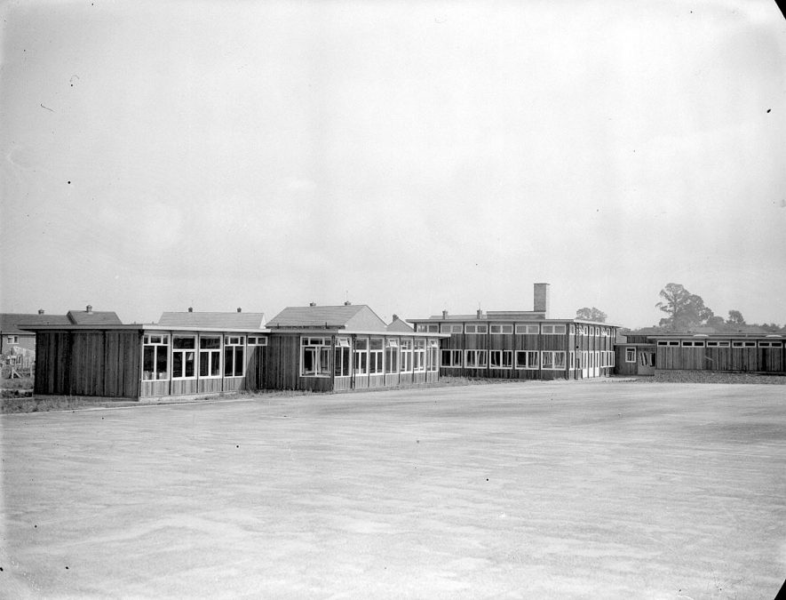 Whitnash.  The new school buildings |  IMAGE LOCATION: (Warwickshire County Record Office)