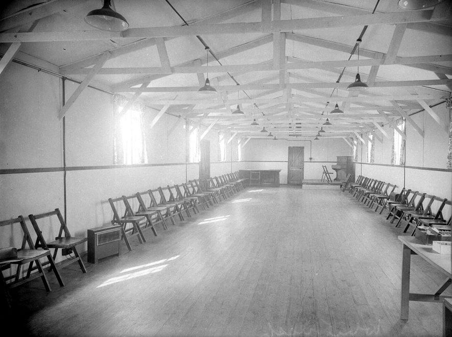 Whitnash. Village Hall  Interior |  IMAGE LOCATION: (Warwickshire County Record Office)