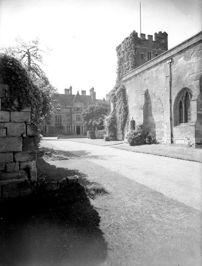 Wroxall Abbey.  The Chapel |  IMAGE LOCATION: (Warwickshire County Record Office)