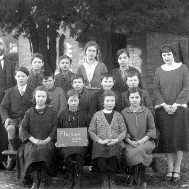 Flecknoe.  School group