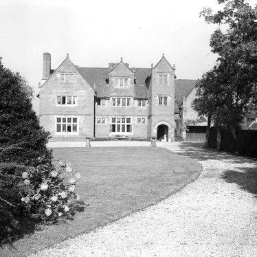 Wolston.  Priory, front exterior