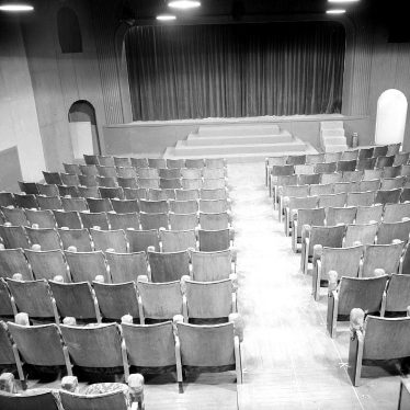 Leamington Spa.  Loft Theatre interior