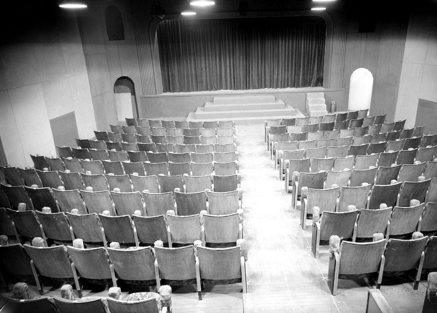 Leamington Spa. Interior of the Loft Theatre |  IMAGE LOCATION: (Warwickshire County Record Office)