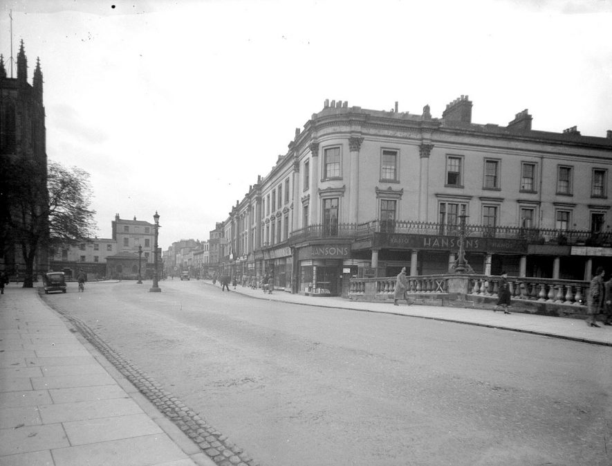Leamington Spa. Victoria Terrace |  IMAGE LOCATION: (Warwickshire County Record Office)