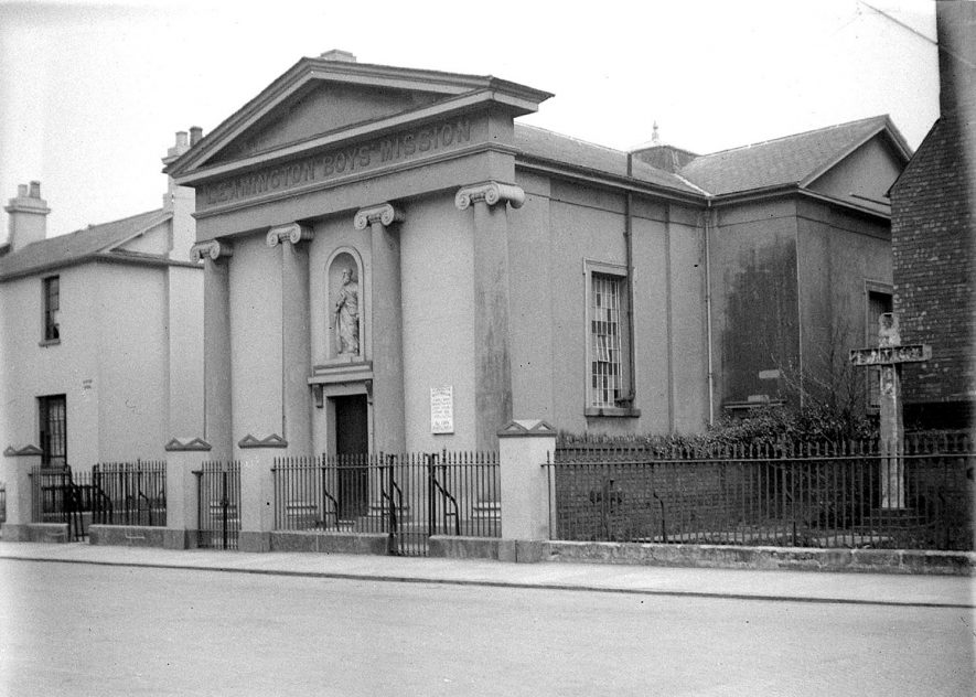 Leamington Spa  Boys Mission in George Street |  IMAGE LOCATION: (Warwickshire County Record Office)