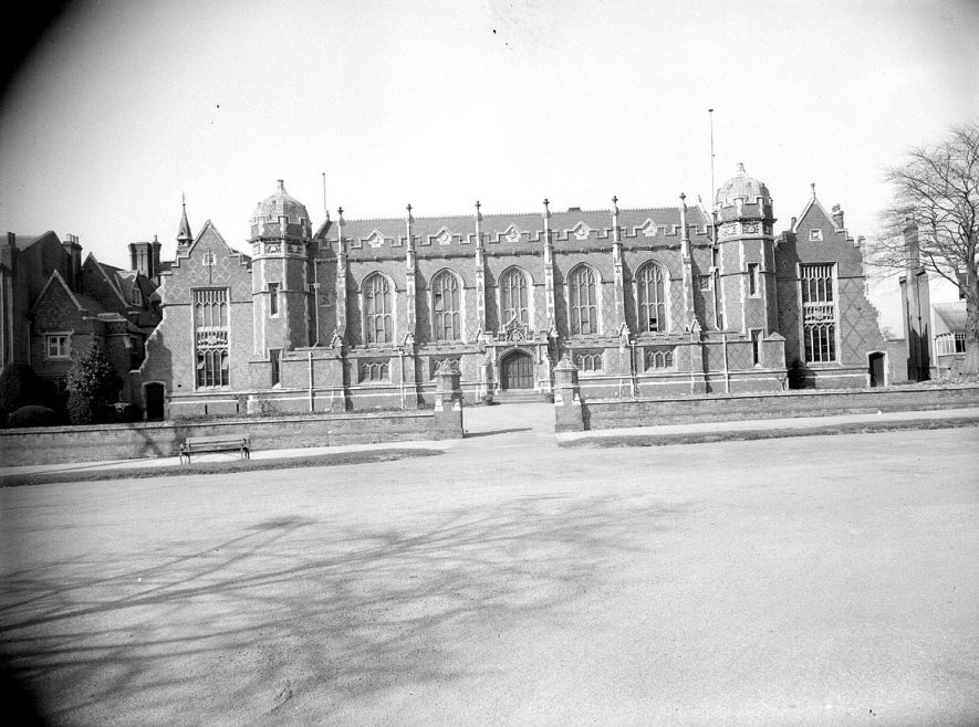 Leamington Spa  Leamington College from Binswood Avenue |  IMAGE LOCATION: (Warwickshire County Record Office)