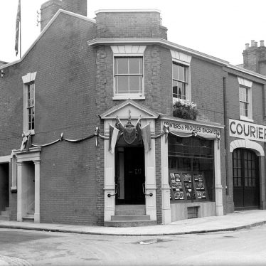 Leamington Spa.  Courier Press Offices