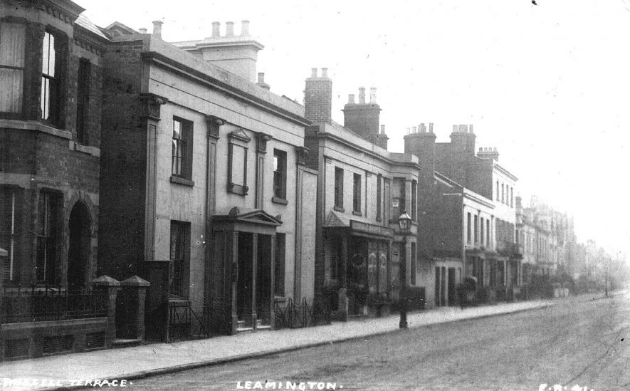 Russell Terrace, Leamington Spa. 1910s | IMAGE LOCATION: (Warwickshire County Record Office)