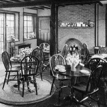 Sherbourne.  The Blue Posts Tea House