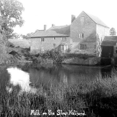 Halford.  Mill on the Stour