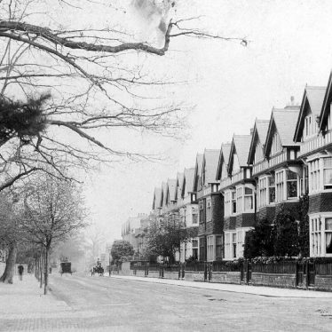 Leamington Spa.  Rugby Road