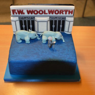Sharon's cake for the launch event. | Image courtesy of Robert Pitt