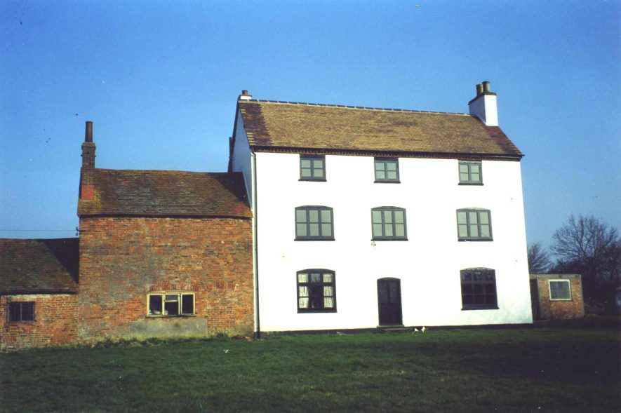 Hill Farm (former Warwick County Asylum) Stretton on Dunsmore. | Image courtesy of Anne Langley