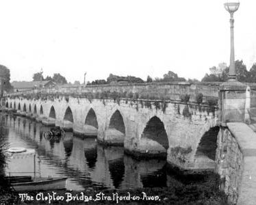 Clopton Bridge, Stratford- upon-Avon.