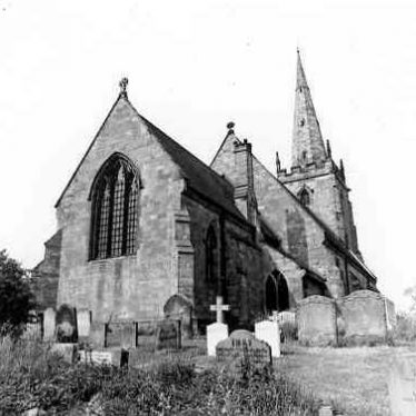 Church of St Cuthbert, Shustoke