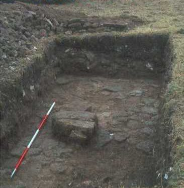 Excavation at the castle in Beaudesert | Warwickshire County Council