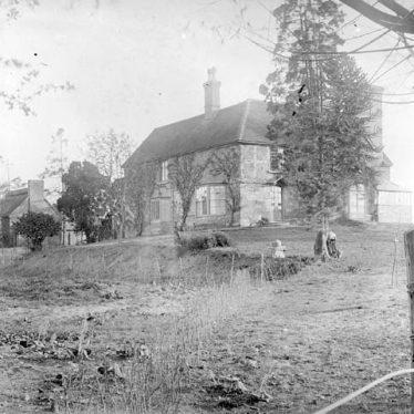 Milcote Manor, Lower Milcote SE of Luddington